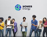 HOMER Energy brand identity