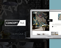 Concept Tile website