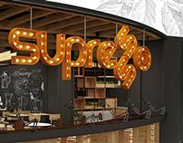 SUPRESSO COFFEE BAR INTERIOR DESIGN & BRANDING