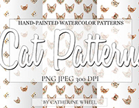 FREE PAPER PACK Cat Pattern