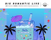 雀斑Freckles@Japan release party poster design