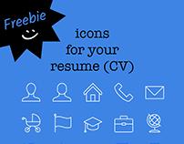 FREE iconset - Resume basics
