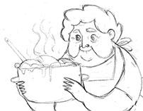 makaron - animation