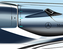 Mercedes Racing Aircraft