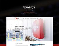 Synergy Website UI Design