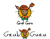 Draft Logos for Indian Chinese Food truck Grub Guru