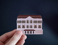 2D and 3D illustrations - paper craft