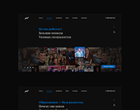 Alexey Veregin - Website design