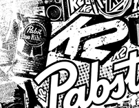 Pabst Blue Ribbon / K2 SKIS