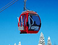 Aspen Ski Poster