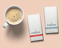 Presso Confections Packaging