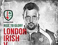 London Irish - Rugby Team Concept