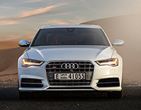 The 2015 Audi S6 | Middle East