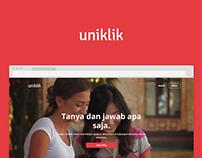 Uniklik - Ask & Answer Anything.