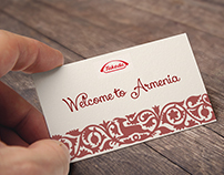 welcome card for Takeda