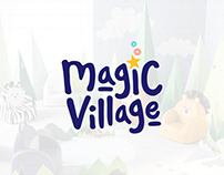 Magic Village Logo & Identity Design