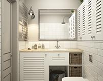 Scandi-bathroom