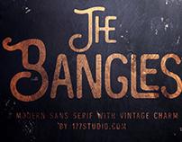 Free Font - The Bangles