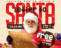 Letter to Santa Flyer & Facebook Cover