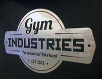 Gym Industries Interior design visualisation 2014