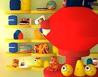 Toy Shop - Interior Design