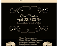 Church Concert Poster