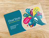 Graphic and Web Design business card
