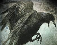 Un cuervo y autorretrato