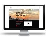"""The Singapore Short Film Festival 2017"" Website design"