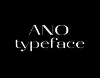 ANO typeface-regular