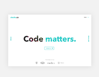 stacks.cz web concept / #365designdays