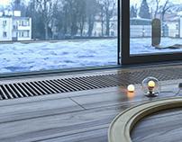 Floor Heater//Studio