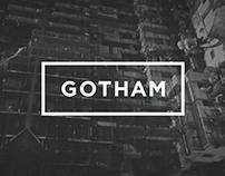 Gotham Bold - Animated Typeface