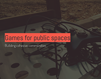 Games for public spaces