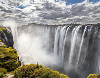 Les chutes Victoria & Botswana