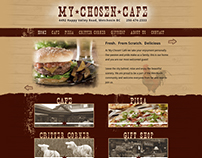 My Chosen Cafe - Website Design and Development (2011)