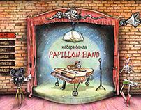 """Web site Design """"Papillon Band"""""""