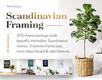 Scandinavian Framing: 375+ Frame Mockups