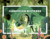 Amex Art Cards (Single Project)