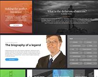 Blogging UI Elements