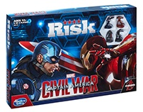 Risk: Captain America: Civil War Board Game