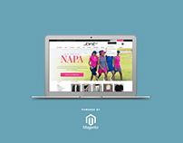 Jofit Website Redesign