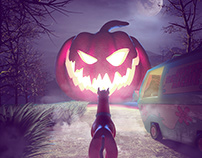 Trick or Treat - Scooby Halloween =)
