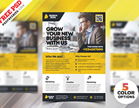 Corporate Flyer Design PSD Templates