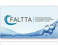 FALTTA - Diseño de logotipo, tarjetas y folleto