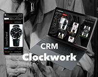 CRM Clockwork concept
