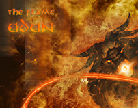 Gandalf And Balrog, LOTR