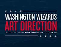 Washington Wizards Art Direction
