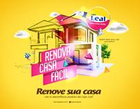 Renove sua casa - Lojas Leal