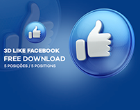 Facebook Like 3D - Free Download